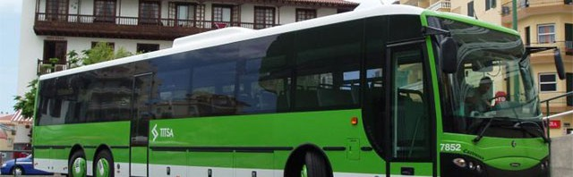 Автобусы TITSA на Тенерифе