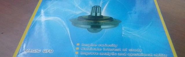 hi-tech permanent magnetic suspensible flying disk