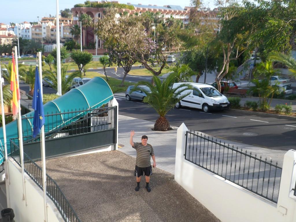Мой вам привет из Тенерифе