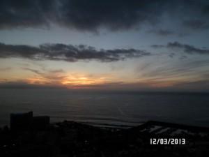 Закат над Лос Гигантес