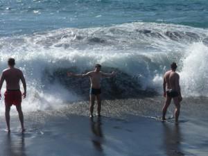 Волны на Плайя Арена