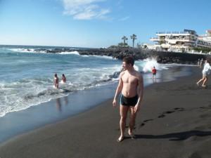 Пляж Плайя де ла Арена