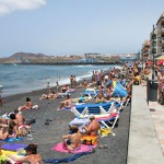 Пляж в Лас Гальетас на Тенерифе