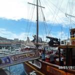 Трап пиратского судна