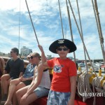 Юный пират на Тенерифе